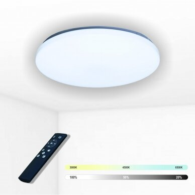 "Apvalus lubinis LED šviestuvas ""SOPOT"" 2x24W"