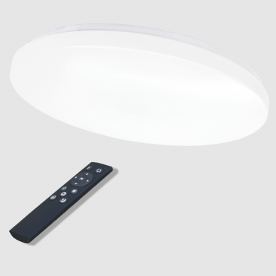 "Apvalus lubinis LED šviestuvas ""SOPOT"" 2x36W 6"