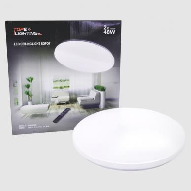 """Apvalus lubinis sieninis LED šviestuvas """"SOPOT"""" 2x48W 8"""