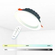 """Įmontuojamas apvalus LED šviestuvas """"BERN"""" 12W"""