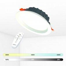 """Įmontuojamas apvalus LED šviestuvas """"BERN"""" 18W"""