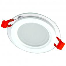 """Įmontuojamas apvalus LED šviestuvas su stiklu """"MODOLED"""" 6W"""