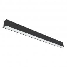 """Įmontuojamas pailgas juodas LED šviestuvas """"ESNA"""" 72W"""