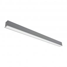 """Įmontuojamas pailgas pilkas LED šviestuvas """"ESNA"""" 72W"""