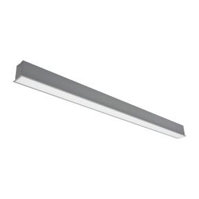 "Reccesed linear LED grey luminaire ""ESNA"" 72W"