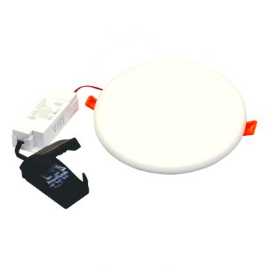 """Įmontuojama apvali LED panelė """"ROSA"""" 20W 7"""