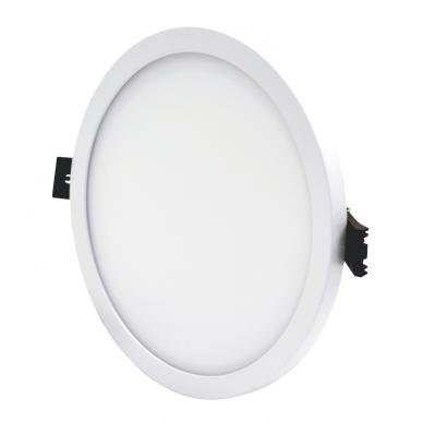 """Įmontuojama apvali LED panelė """"SPLIT"""" 16W 3"""