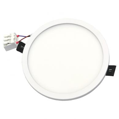 """Įmontuojama apvali LED panelė """"SPLIT"""" 16W 6"""