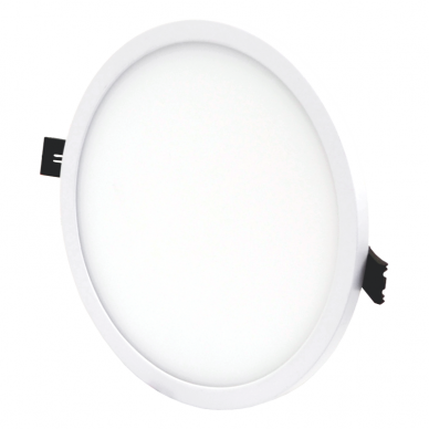 """Įmontuojama apvali LED panelė """"SPLIT"""" 22W 2"""