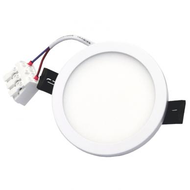 """Įmontuojama apvali LED panelė """"SPLIT"""" 8W 7"""