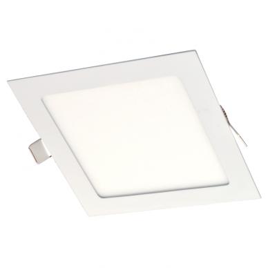 """Įmontuojama kvadratinė LED panelė """"AIRA"""" 12W"""