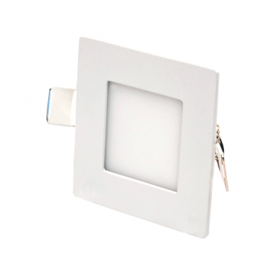 """Įmontuojama kvadratinė LED panelė """"AIRA"""" 3W"""