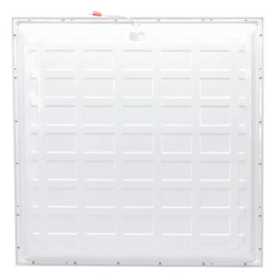 "Recessed square LED panel ""MESA"" 42W-3000K UGR 6"