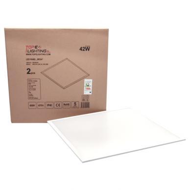 "Reccesed square LED panel ""MESA"" 42W-4000K UGR 8"