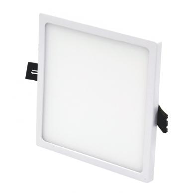 """Įmontuojama kvadratinė LED panelė """"SPLIT"""" 16W"""