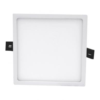 """Įmontuojama kvadratinė LED panelė """"SPLIT"""" 16W 2"""