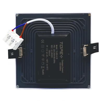"""Įmontuojama kvadratinė LED panelė """"SPLIT"""" 16W 5"""