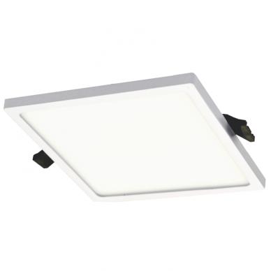 """Įmontuojama kvadratinė LED panelė """"SPLIT"""" 16W 3"""