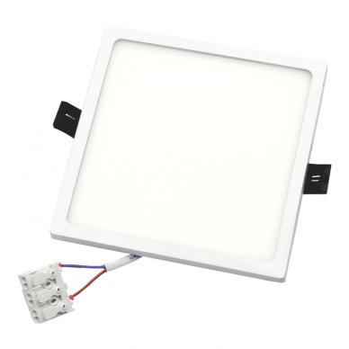 """Įmontuojama kvadratinė LED panelė """"SPLIT"""" 16W 6"""