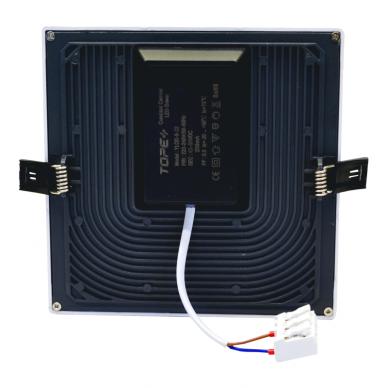 """Įmontuojama kvadratinė LED panelė """"SPLIT"""" 22W 5"""