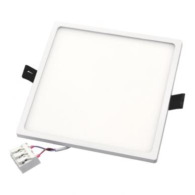 """Įmontuojama kvadratinė LED panelė """"SPLIT"""" 22W 6"""
