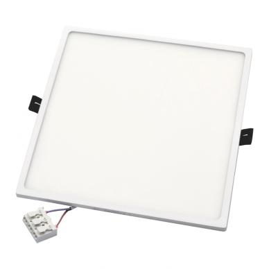"""Įmontuojama kvadratinė LED panelė """"SPLIT"""" 30W 6"""