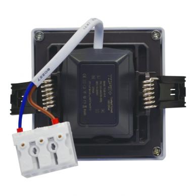 """Įmontuojama kvadratinė LED panelė """"SPLIT"""" 5W 5"""