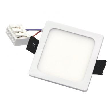 """Įmontuojama kvadratinė LED panelė """"SPLIT"""" 5W 6"""