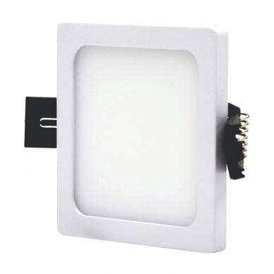"""Įmontuojama kvadratinė LED panelė """"SPLIT"""" 5W 3"""