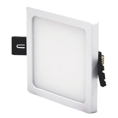 """Įmontuojama kvadratinė LED panelė """"SPLIT"""" 8W 3"""