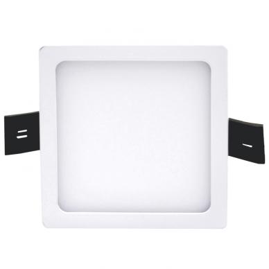 """Įmontuojama kvadratinė LED panelė """"SPLIT"""" 8W 2"""