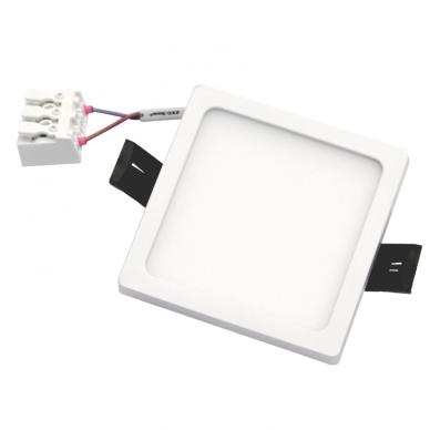 """Įmontuojama kvadratinė LED panelė """"SPLIT"""" 8W 6"""