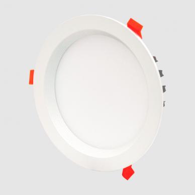"""Įmontuojamas apvalus LED šviestuvas """"BERN"""" 12W 3"""