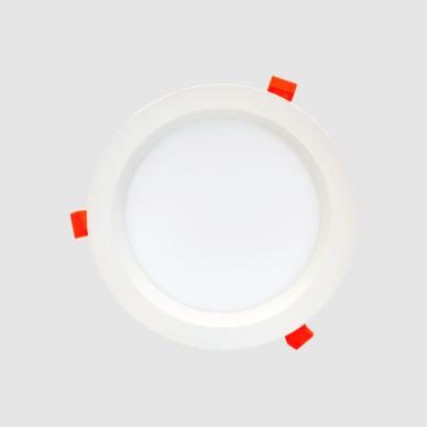 """Įmontuojamas apvalus LED šviestuvas """"BERN"""" 12W 4"""