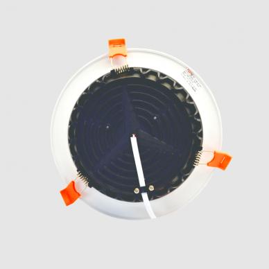 """Įmontuojamas apvalus LED šviestuvas """"BERN"""" 12W 6"""