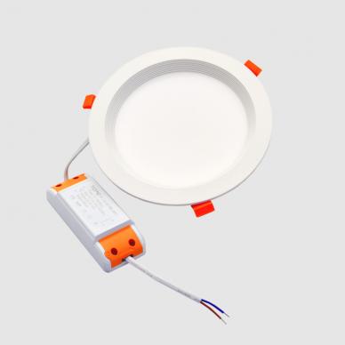 """Įmontuojamas apvalus LED šviestuvas """"BERN"""" 12W 7"""
