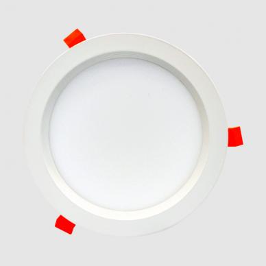 """Įmontuojamas apvalus LED šviestuvas """"BERN"""" 18W 3"""