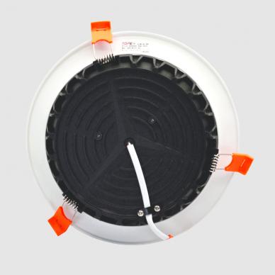 """Įmontuojamas apvalus LED šviestuvas """"BERN"""" 18W 5"""