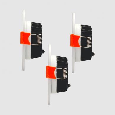 """Įmontuojamas apvalus LED šviestuvas """"BERN"""" 3x4W 3"""