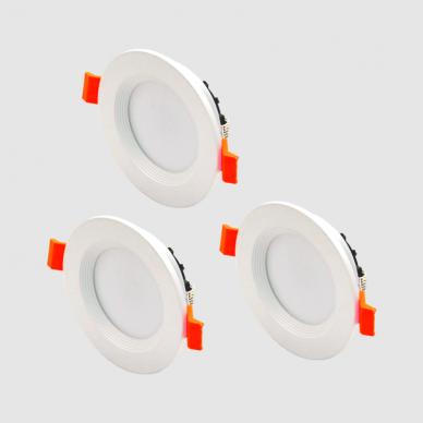"""Įmontuojamas apvalus LED šviestuvas """"BERN"""" 3x4W 2"""