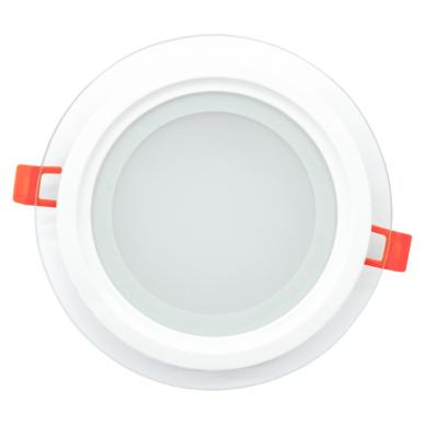 """Įmontuojamas apvalus LED šviestuvas su stiklu """"MODOLED"""" 12W 7"""