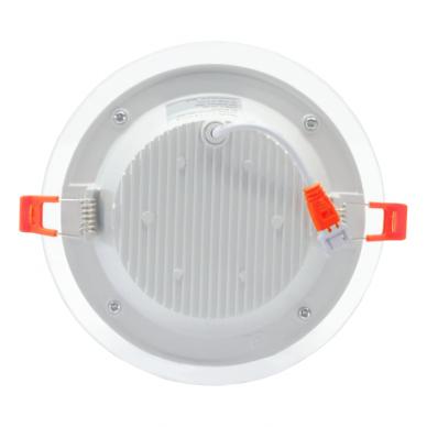 """Įmontuojamas apvalus LED šviestuvas su stiklu """"MODOLED"""" 12W 5"""