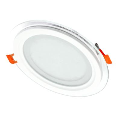 """Įmontuojamas apvalus LED šviestuvas su stiklu """"MODOLED"""" 12W 2"""