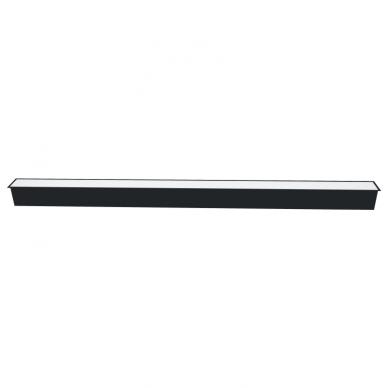 "Reccesed linear LED black luminaire ""ESNA"" 54W 4"