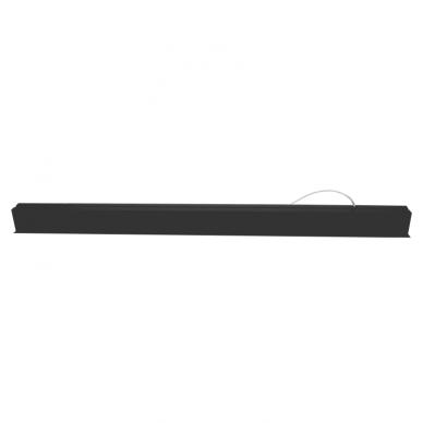"Reccesed linear LED black luminaire ""ESNA"" 54W 5"