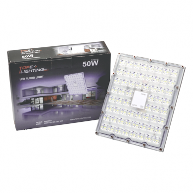 """LED floodlight """"BRENT"""" 50W 7"""