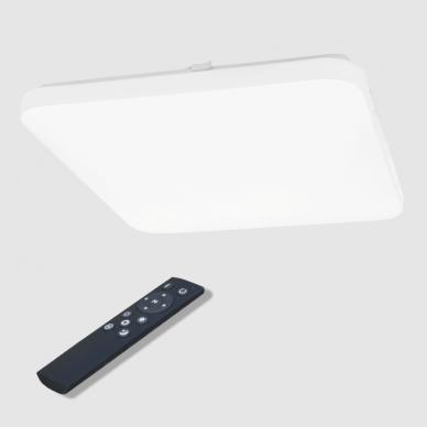 """Kvadratinis lubinis LED šviestuvas """"SOPOT"""" 2x24W 6"""