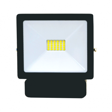 "LED floodlight with microwave sensor ""TOLEDOSENS"" 20W 3"