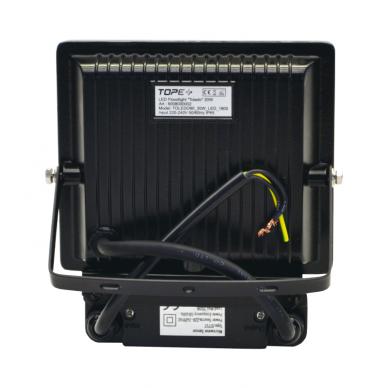 "LED floodlight with microwave sensor ""TOLEDOSENS"" 20W 6"