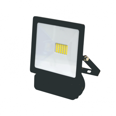 "LED floodlight with microwave sensor ""TOLEDOSENS"" 20W 2"
